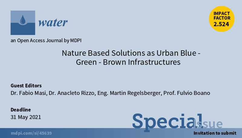 Blue Green Brown Infrastructures horizontal light